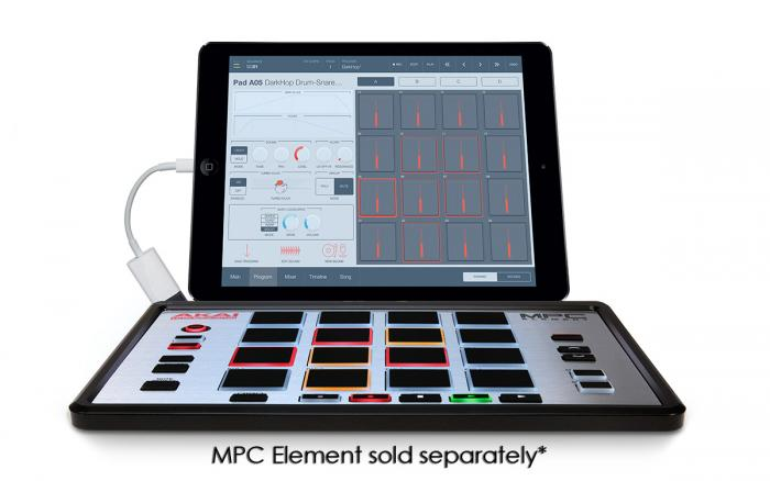 iMPC Pro with MPC Element