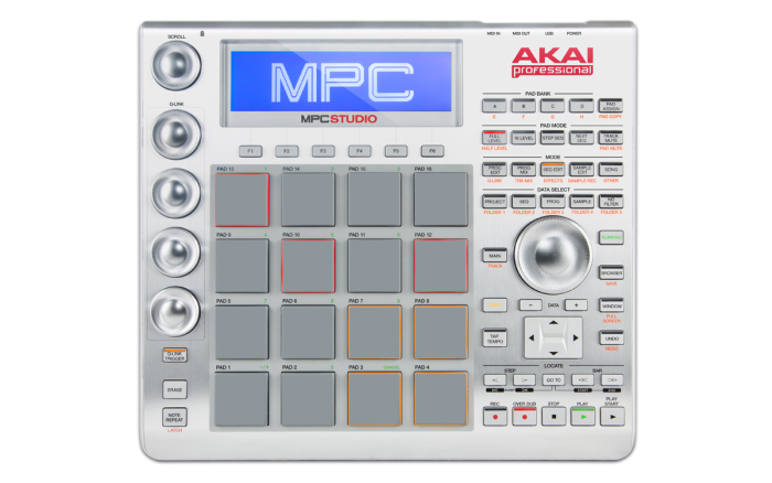 MPC Studio - Top