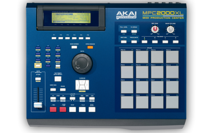 MPC2000XL - Top