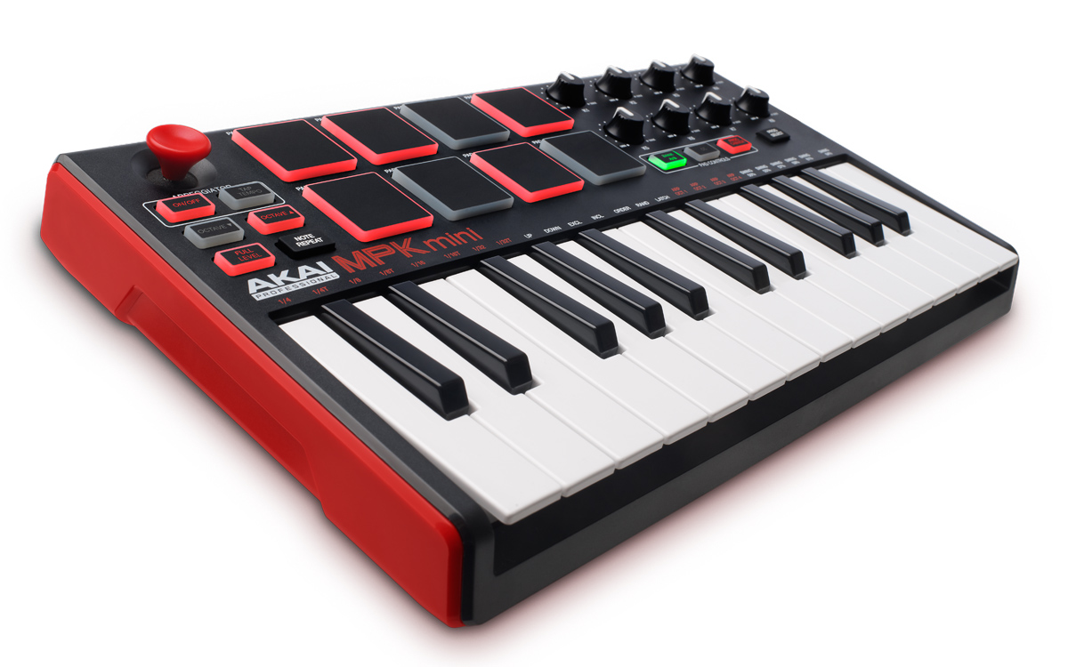 mpk mini mkii akai professional iconic music production gear including the legendary mpc. Black Bedroom Furniture Sets. Home Design Ideas